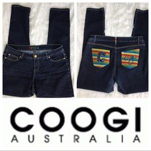 Coogie women Dark Skinny Jeans Sz 14W
